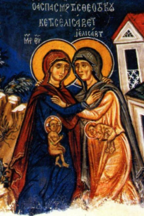 icon of mary and elizabeth