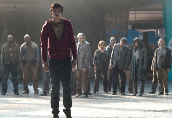 The movie Warm Bodies depicts how love is what transforms the heart from the zombie back into a person instead of a creature.