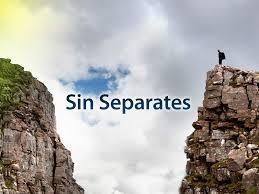 sin separates