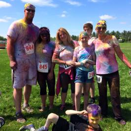 RUN 5K COLOR